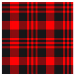 Colourful Classic Modern Plaid Tartan Seamless Print/Pattern in Vector - This is a classic plaid(checkered/tartan) pattern suitable for shirt printing, jacquard patterns, backgrounds for various mediu