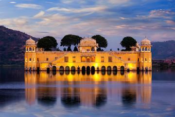 Wall Mural - Jal Mahal (Water Palace). Jaipur, Rajasthan, India
