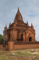 A Stupa in the valley of temples. Bagan - Burma - Myanmar