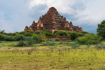 A pagoda in the valley of temples. Bagan - Burma - Myanmar