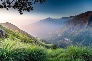 Foto op Canvas Donkergrijs Beautiful landscape in Ella, Sri lanka