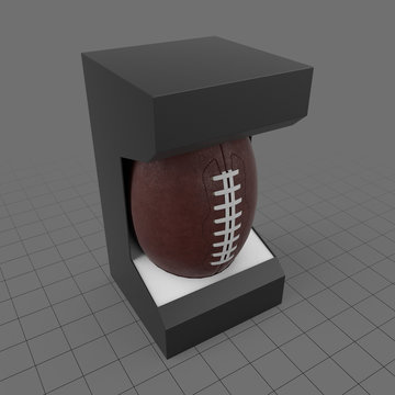 American football in package