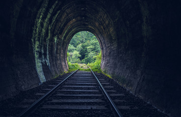 Demodara railway tunnel, Ella, Sri Lanka