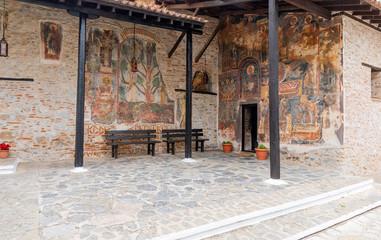 Monastery of Panagia Mavriotissa, Kastoria, Greece.