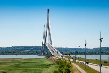 bridge in France pont de Normandie