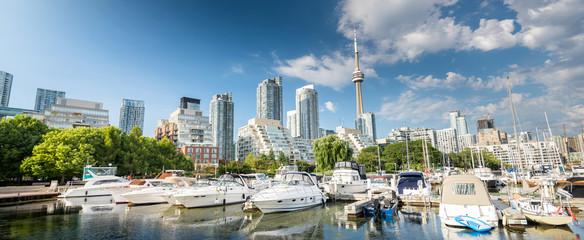 Toronto city skyline, Ontario, Canada Fototapete
