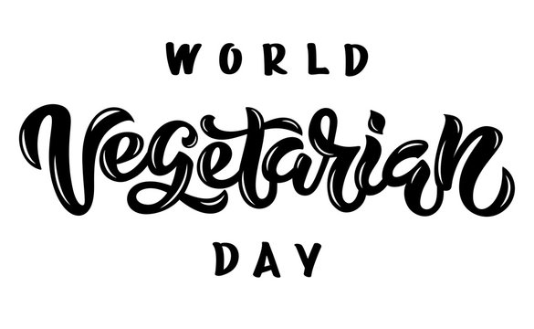 Vegetarian calligraphy