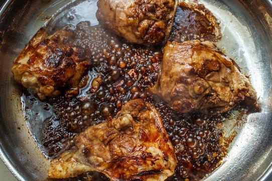 Italian Balsamic Chicken Thighs
