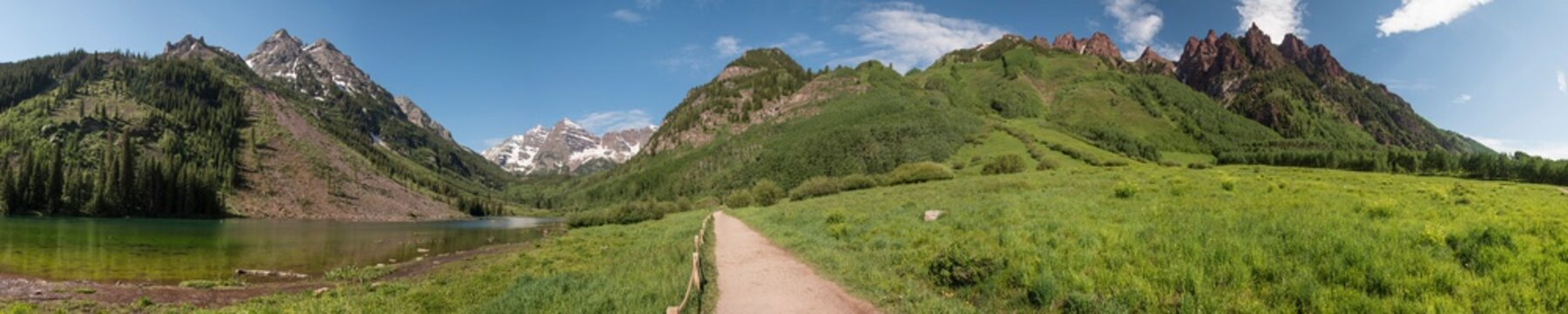 Maroon Bells - Extra Long Panoramic