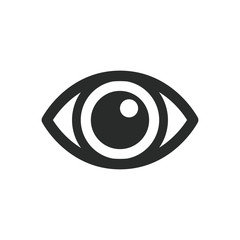 eye icon vector design illustration