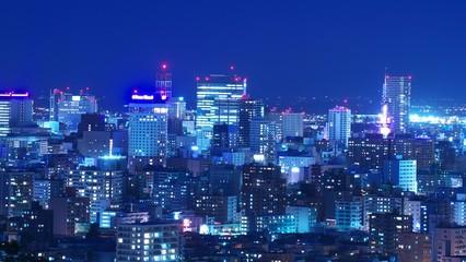 日本新三大夜景を照らす中秋の名月