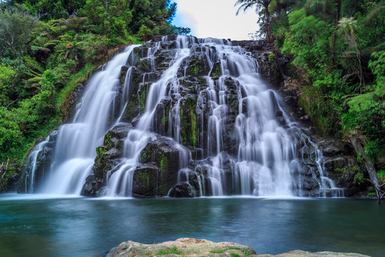 Owharoa Falls, Waikino, New Zealand North Island