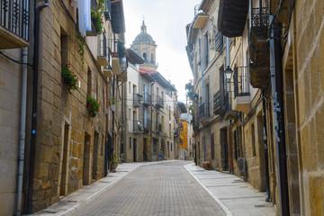 peaceful town of la rioja, Spain Fototapete