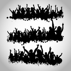 Party People Silhouettes