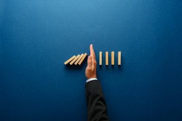 Business crisis management conceptual image