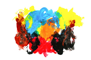 Abstract Watercolor Background colorfull