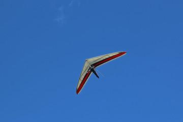 Fototapete - Hang glider flying