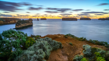 bay of islands after sunset at blue hour, great ocean road, australia 33
