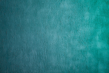 Beautiful Abstract Grunge Decorative Light Blue Cyan Painted Stucco Wall Texture.