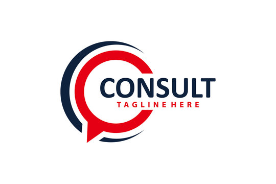consulting logo icon vector isolated