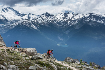 Beautiful landscape in Whistler BC, British Columbia, Canada. Fototapete