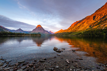 Two Medicine Lake at Dawn
