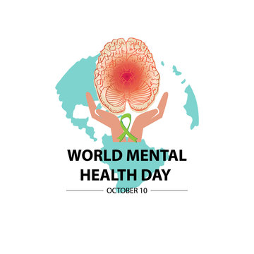 World Mental Health Day Concept.
