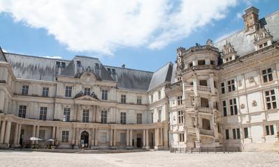 extérieurs du château de Blois