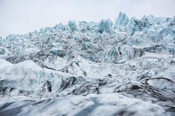 Fototapete - Beautiful landscape on a Glacier