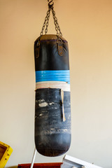 boxing gloves on wall, digital photo picture as a background