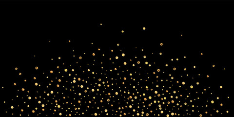 Sparse gold confetti luxury sparkling confetti. Sc