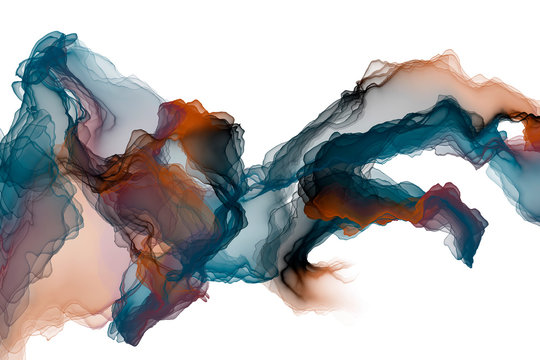 abstract ink painting decorative painting colorful line background