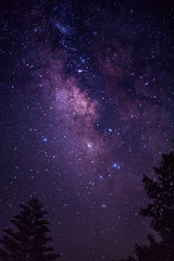 The Great Milky way covering the night sky