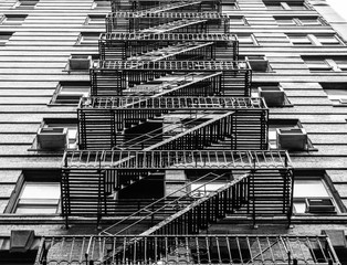 Fire Stairs in New York City