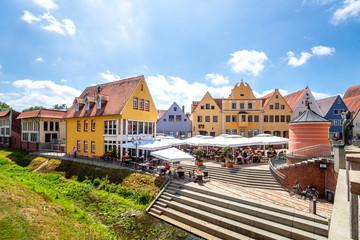 Altstadt, Donauwörth, Bayern, Deutschland  Fototapete