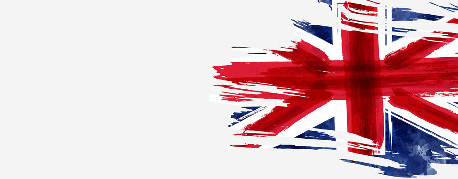 Grunge flag of the United Kingdom
