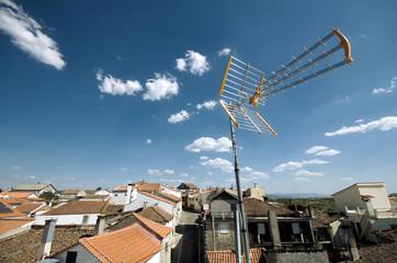 Antenne de télévision Fototapete