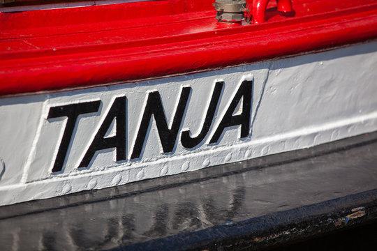 Bootsname Tanja, Barkasse