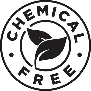 Chemical Free Symbol Icon