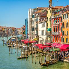 Obraz Venice, Canal Grande, Italy - fototapety do salonu