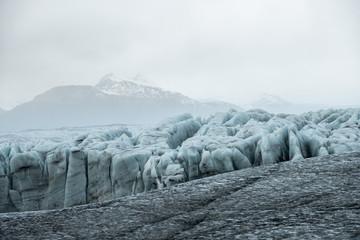 Fototapete - Jokulsarlon glacier ice lagoon, Iceland