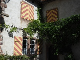 Historic Bavarian shutters