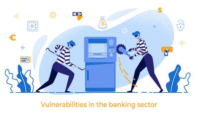 Cartoon Thieves Damage ATM Vulnerabilities in Bank