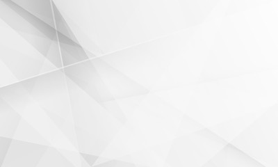 Minimal geometric white light background abstract design.