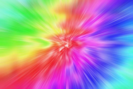 An abstract psychedelic tie dye background image.
