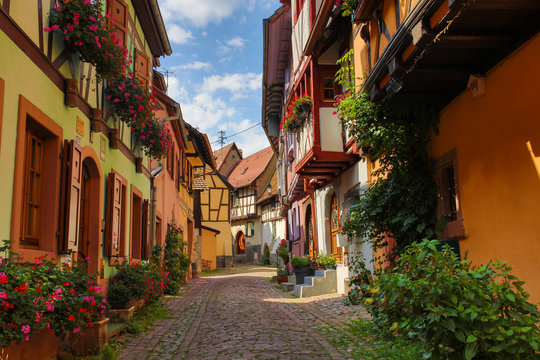 the old town of Eguisheim