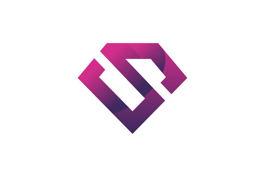 super hero emblem logo icon vector