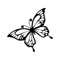 Butterfly logo design vector. Butterfly logo template illustration