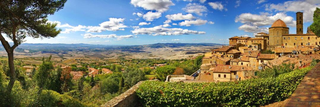 Volterra ist eine malerische Stadt in der Toskana