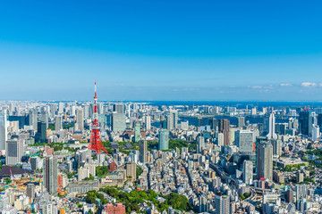 Photo sur Aluminium Tokyo 東京の風景 Tokyo city skyline , Japan.
